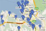 Ladestasjoner Bergen