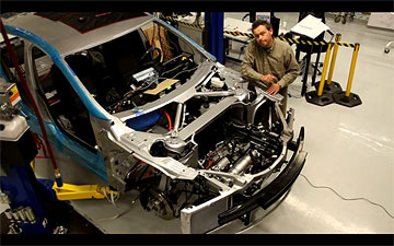 Tesla Model S construction