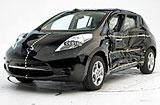 Nissan LEAF chrashtest