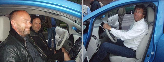 Nissan LEAF passasjerer