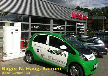 Birger N. Haug hurtiglader