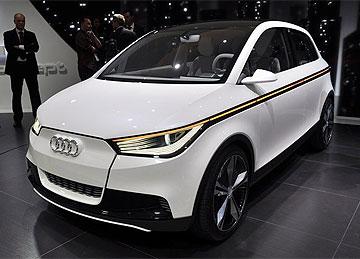 Audi A2 elektrisk