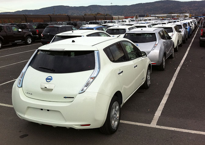 Nissan LEAF i Drammen