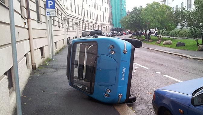 Buddy høykantparkering