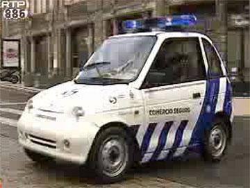 Elektrisk politibil