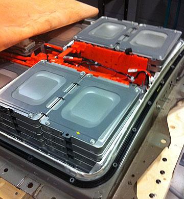 Nissan LEAF batteri