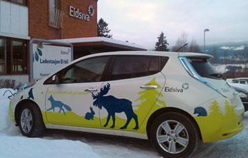 Nissan LEAF Eidsiva