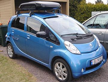 Urban Loader på Peugeot iOn