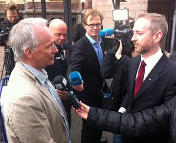 Nils Haugrud og Solhjell