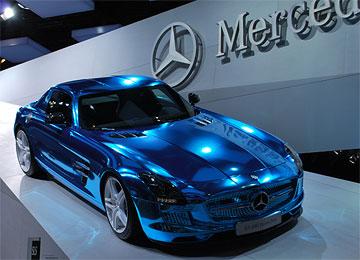 Mercedes SLR electric