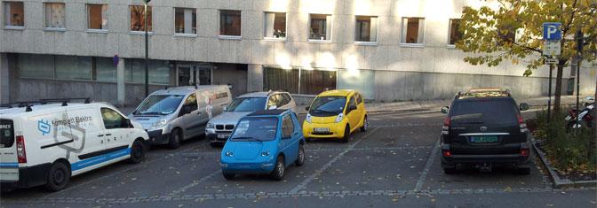 Ledig parkering