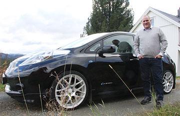 Nissan LEAF lowrider