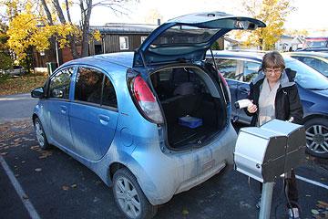 Hjemmetjeneste med elbil