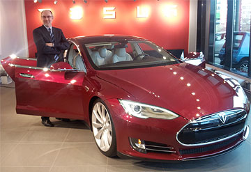 Tesla Model S George Blankenship