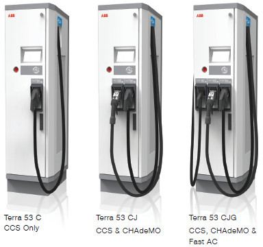 ABB multistandard DC chargers