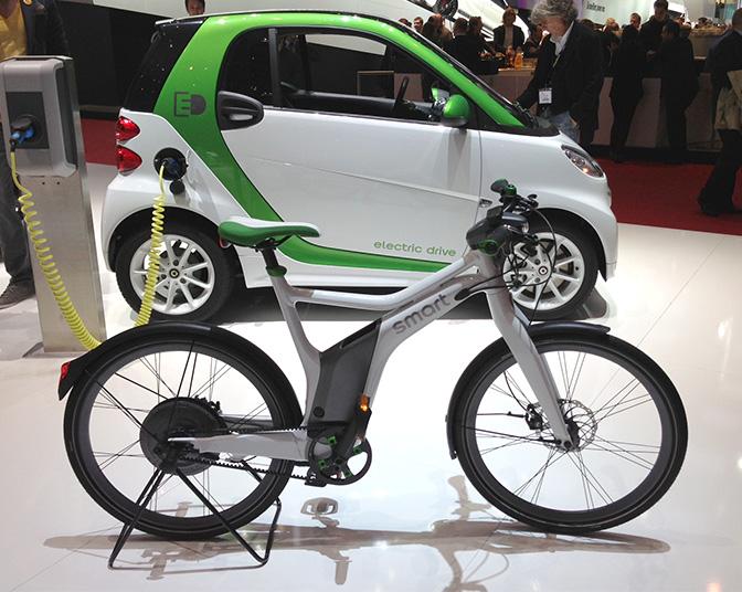 Smart elbil og elsykkel