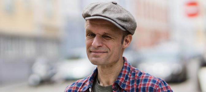 Harald Nissen er stortingskandidat og talsmann for Miljøpartiet de Grønne