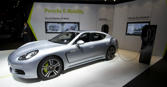 Porsche Panamera S-E Hybrid