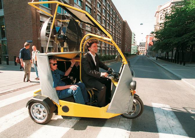 Stoltenberg el-taxi
