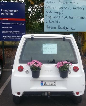 Buddparkering