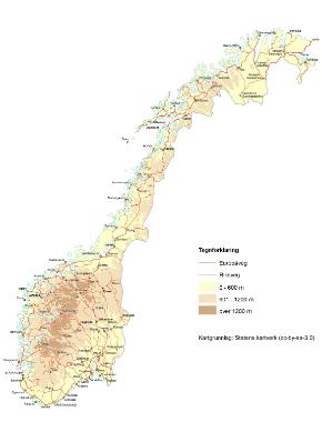 Norgeskartet