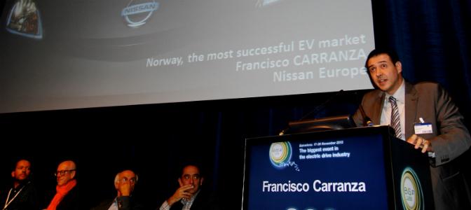 Nissan Europes Francisco Carranza
