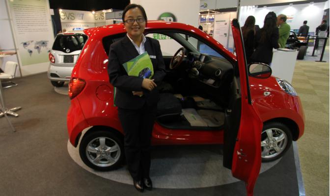 ZDs talskvinne Jane Liu sier til elbil.no at minibilen først og fremst er ment for bykjøring.