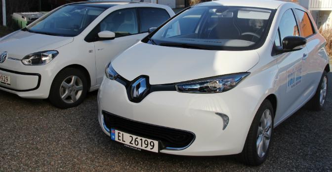 VW e-up! Renault Zoe