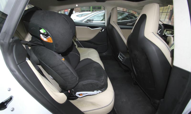 ISOFIX-fester for barnesete finnes i de fleste moderne elbiler