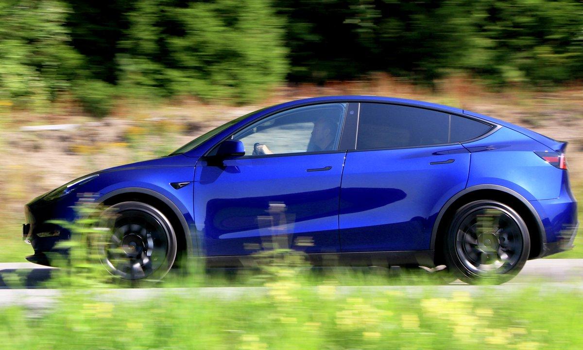 Tesla Model Y kan bli en ny norsk familiefavoritt