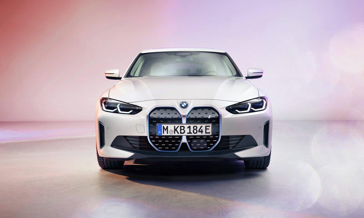 BMW i4 Gran Coupé front