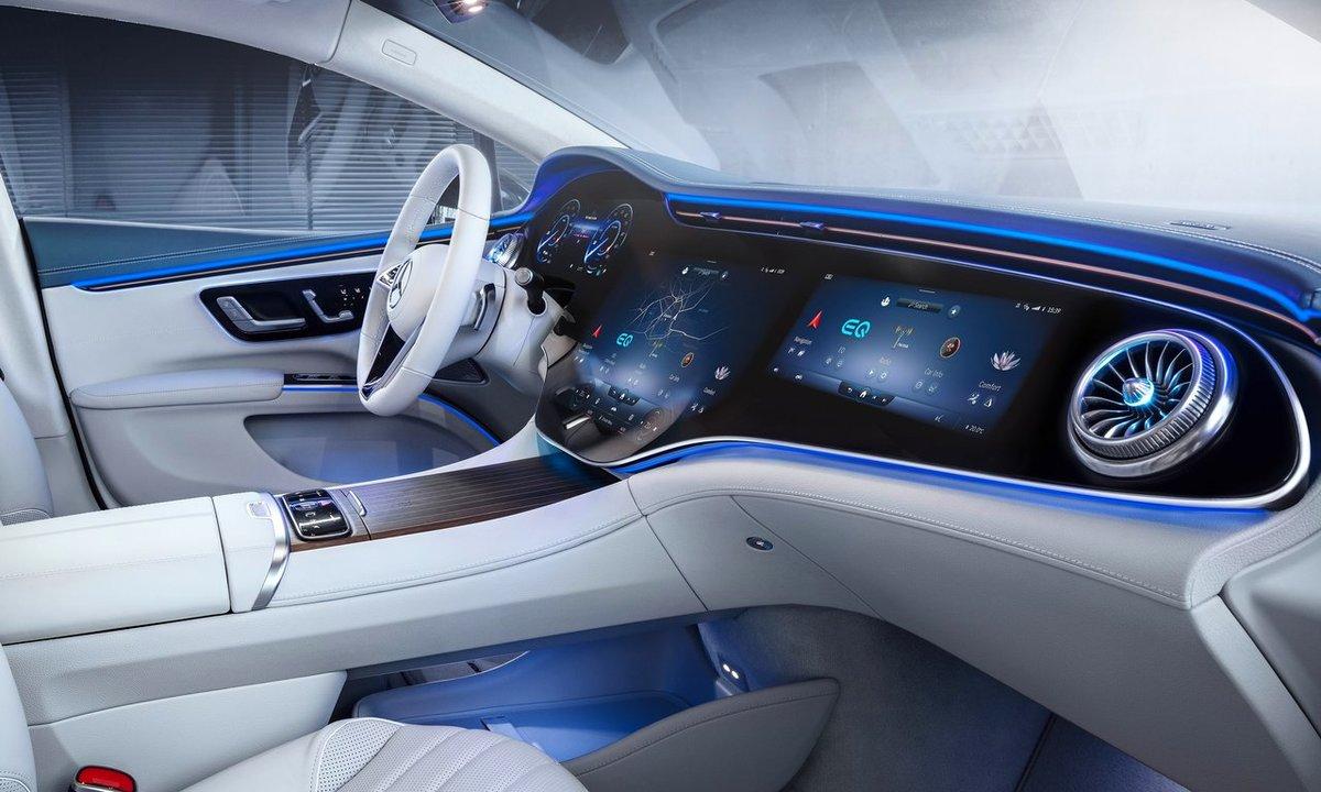 Mercedes-Benz EQS interiør