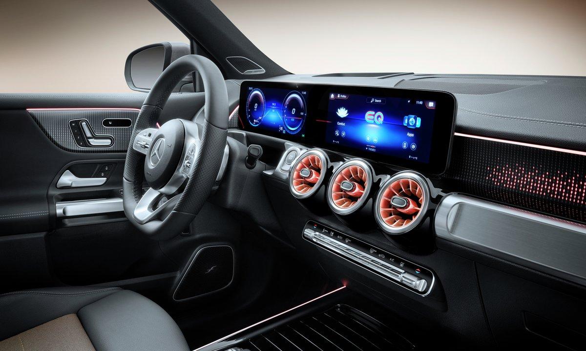 Mercedes-Benz eqb interiør