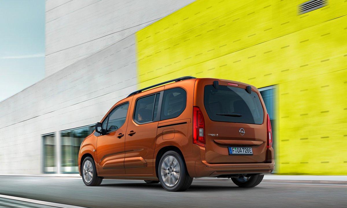 Opel Combo-e Life rear