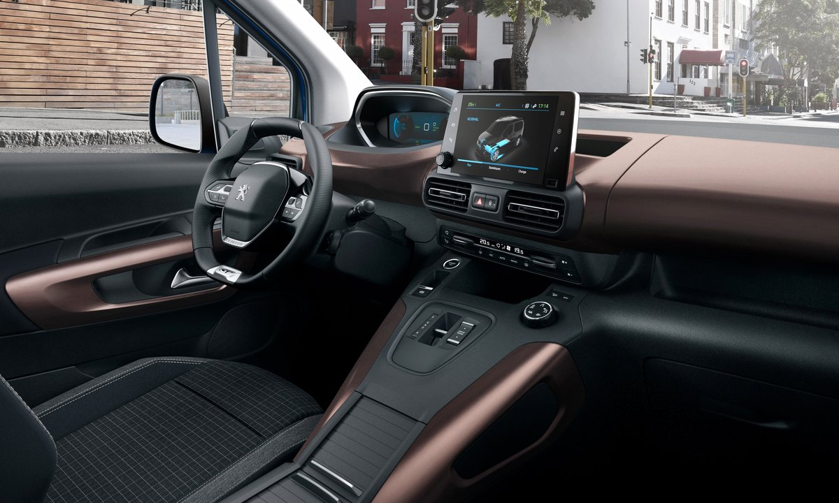 Peugeot e-Rifter interiør