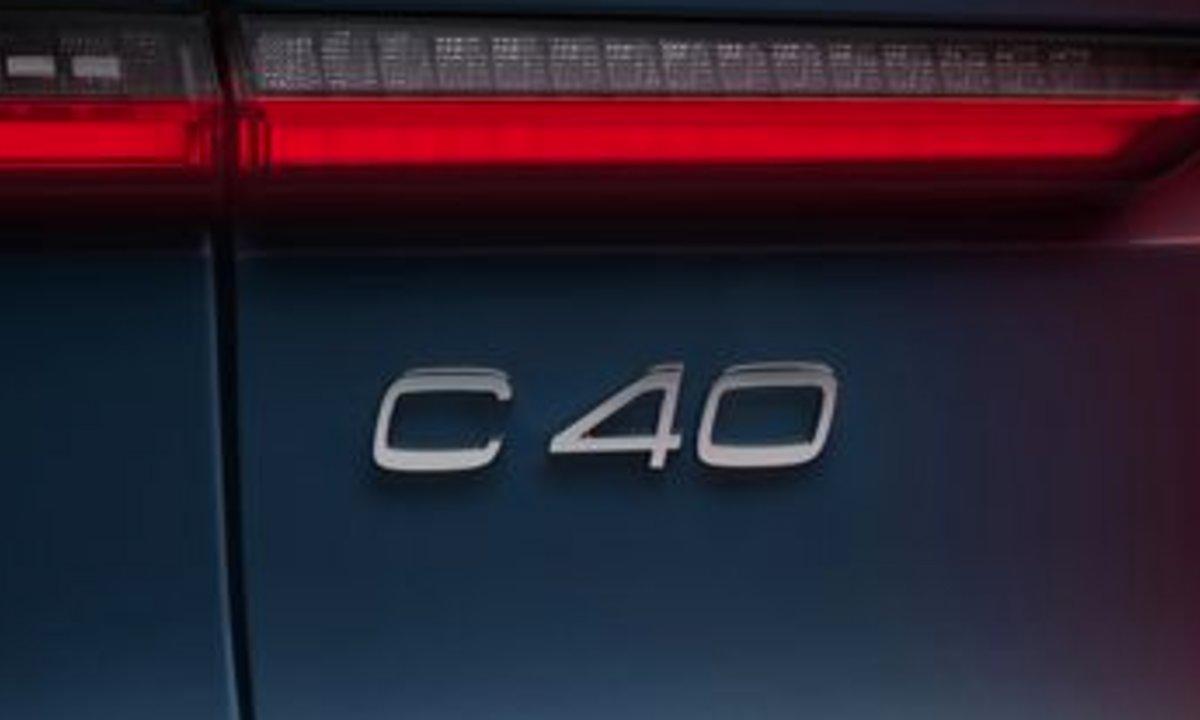 Volvo C40 Recharge detalj