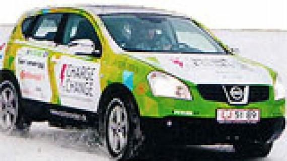 Jorda rundt med elbil