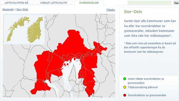 Oslo forurensning