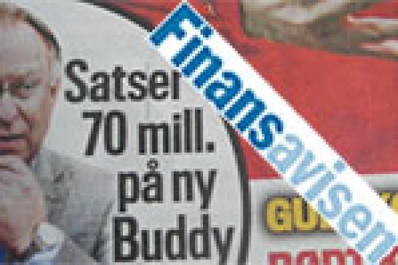Satser 70 millioner på Buddy