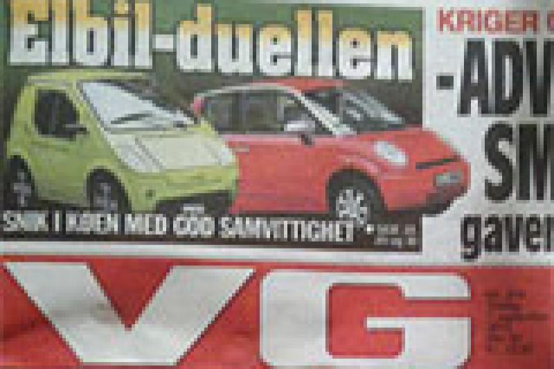 VG triller terning for elbiler