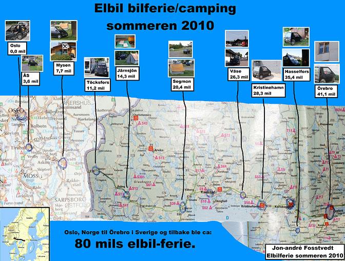 Elbil på campingtur