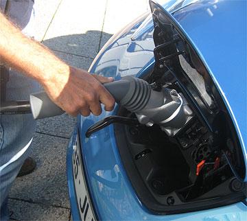 Nissan Leaf Chademo