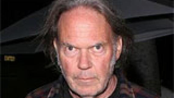 Neil Youngs berømte elbil brant