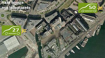 Ladestasjoner i Oslo