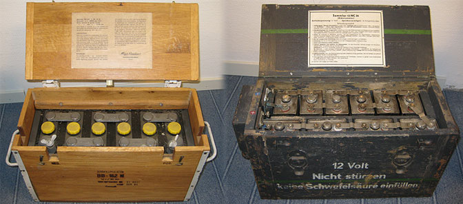 Gamle batterier