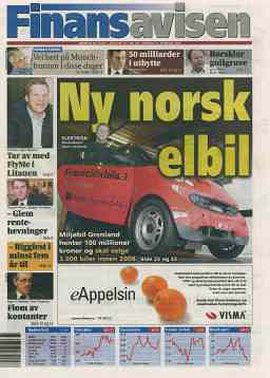 Ny norsk elbil