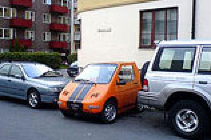 Lykkeparkering for de små elbilene!