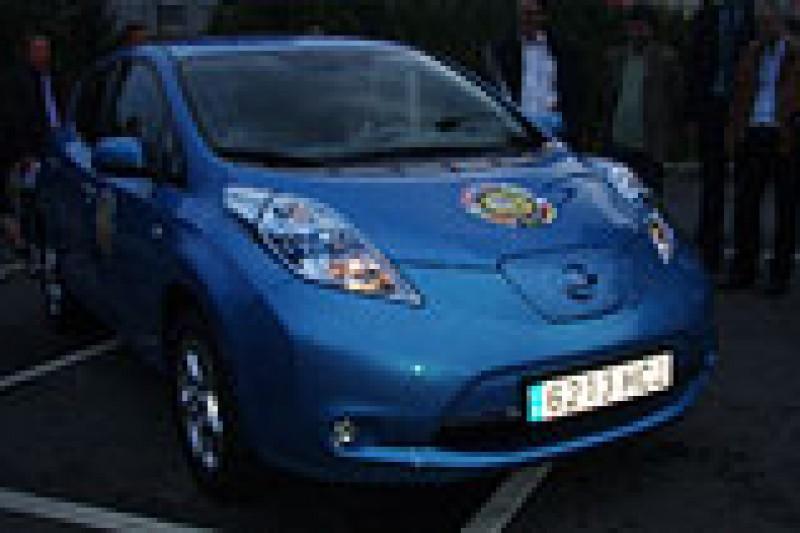 Nissan LEAF på norsk asfalt