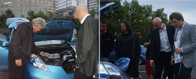 Nissan LEAF reparatører