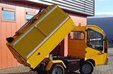 Elektrisk søppelbil